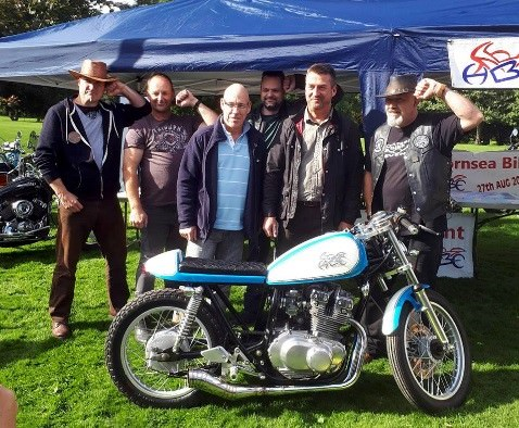 Hornsea Biker Event 2017 Presentation Day