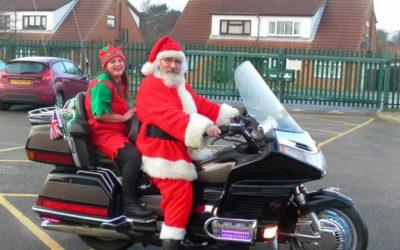 Hornsea Burton Primary School Santa Visit